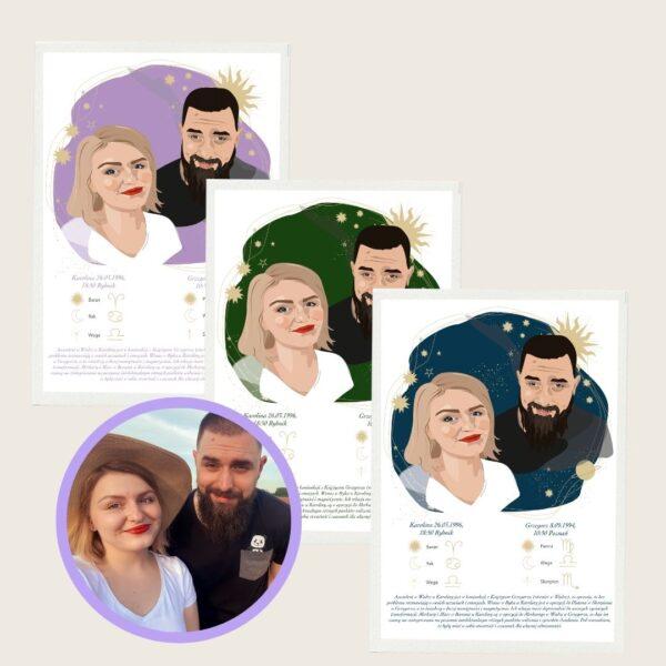 portret dla pary