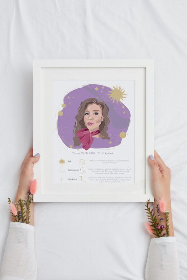portret namalowany ze zdjÄ™cia
