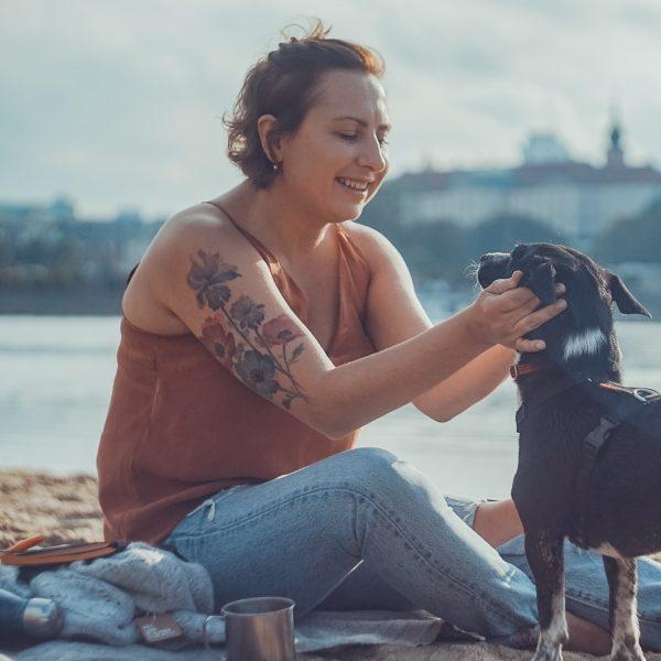 astrobabe poniatowka z psem